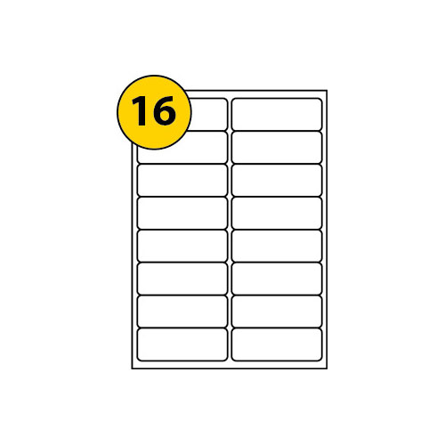 Label Sheets 99.1mm x 34mm-3002