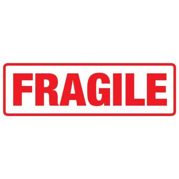 FRAGILE Labels 148mm x 50mm-0