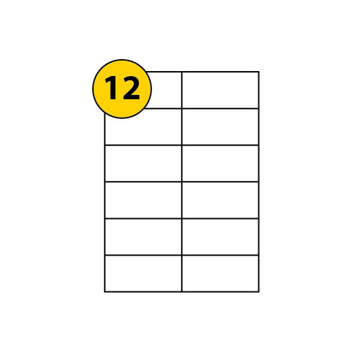 Label Sheets 105mm x 49.5mm-3043