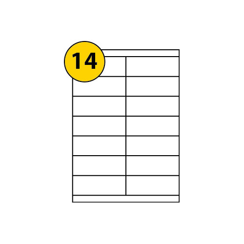 Label Sheets 105mm x 38mm-3047