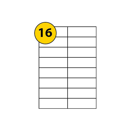 Label Sheets 105mm x 35mm-3051