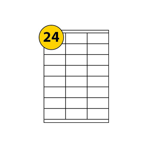 Label Sheets 70mm x 35mm-3064