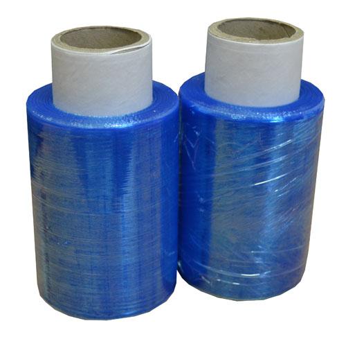 Mini Pallet Stretch Wrap Blue 100mm x 150m x 17mu-2960