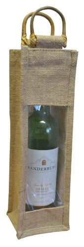 Single Bottle Jute Bags-0