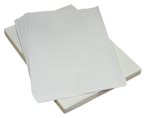 Label Sheets 63.5mm x 38.1mm-3007