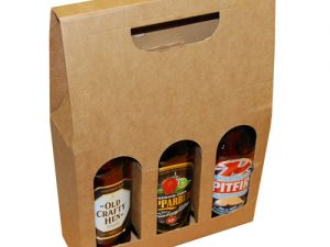 3 Bottle Carrier Boxes