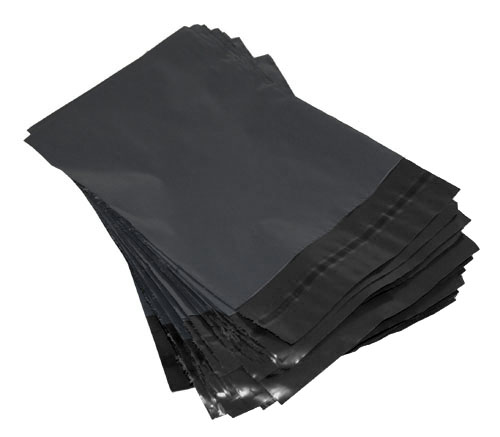 Grey Polythene Mailing Bags 250mm x 350mm-0