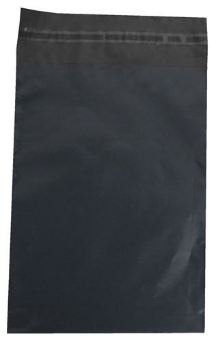 Grey Polythene Mailing Bags 250mm x 350mm-3841