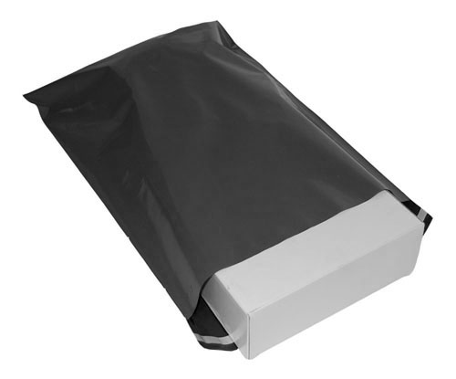 Grey Polythene Mailing Bags 350mm x 475mm-3854