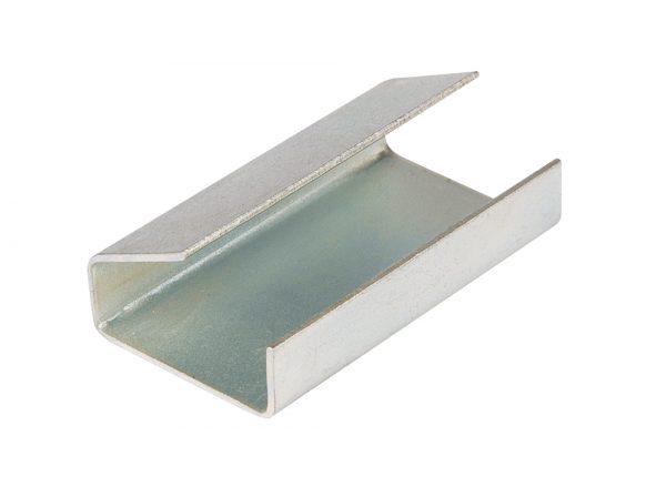 Metal Semi Open Strapping Seals 12mm x 25mm x 0.5mm-0