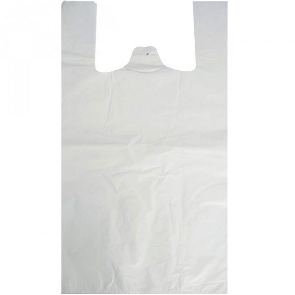 """Polythene Vest Handle Carrier Bags 11"""" x 17"""" x 21""""-0"""