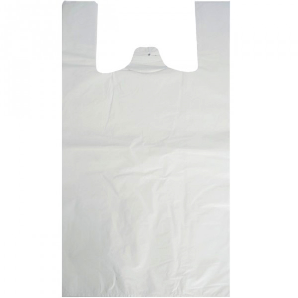 "Polythene Vest Handle Carrier Bags 13"" x 20"" x 23""-0"
