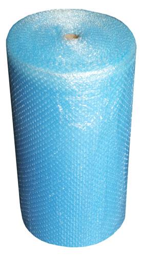 Blue Bubble Wrap Small Bubbles 1000mm x 100m-0