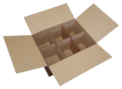 Six Compartment Boxes 275 x 210 x 125mm-0