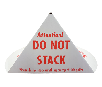 Printed Do Not Stack Cones